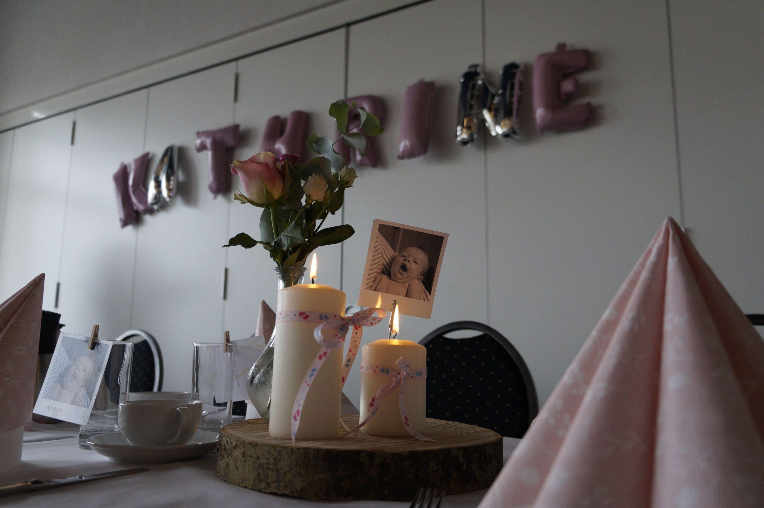 Barnedåb eller anden fest i Faaborg. Livets fester fejres på Restaurant Klinten.
