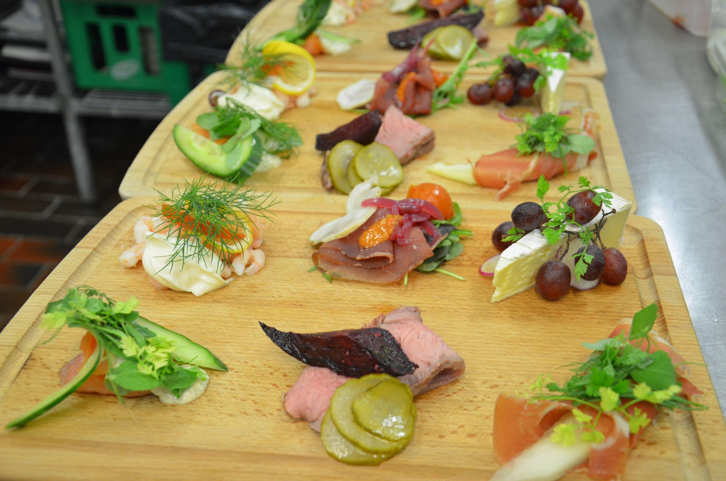 Lækker mad i Faaborg på Restaurant Klinten.