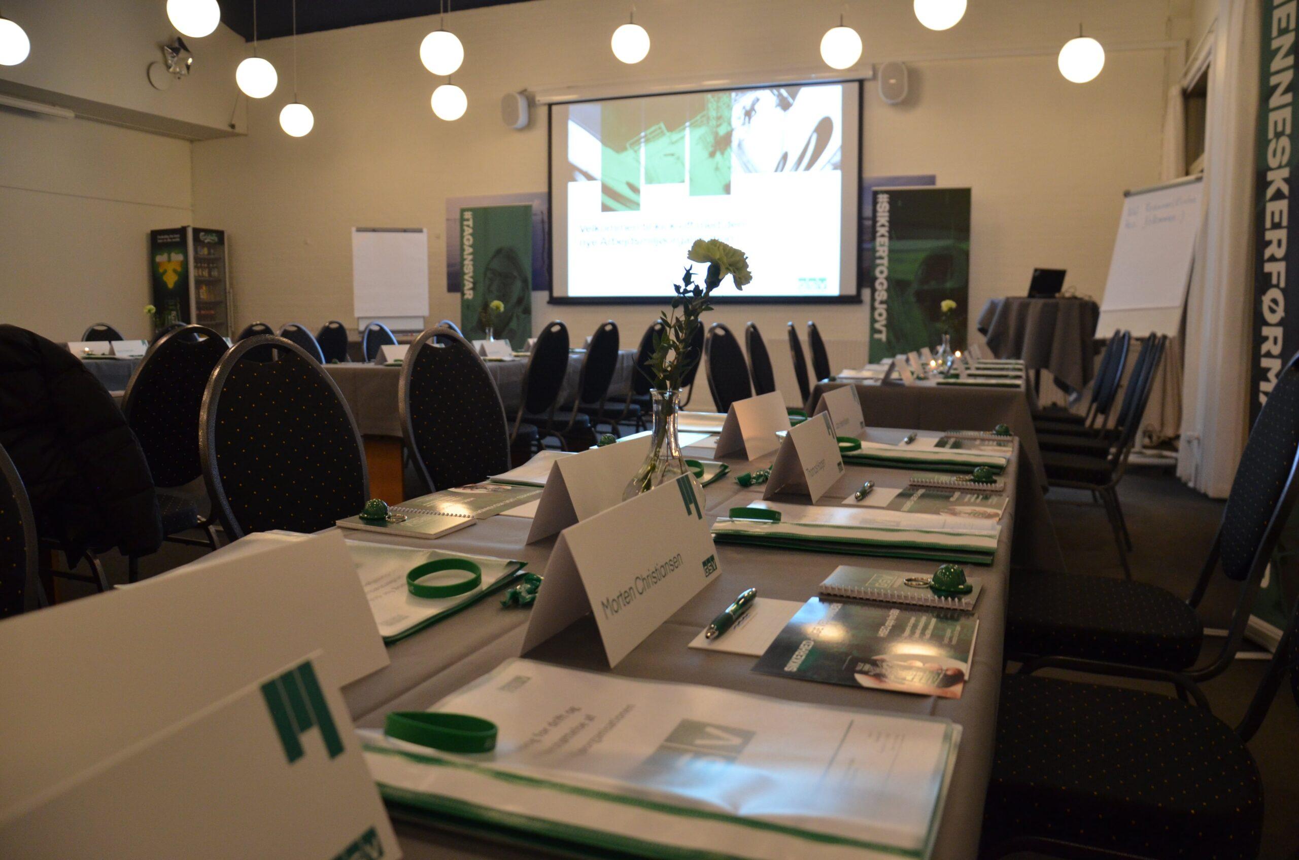 Restaurant Klinten har den bedste udsigt og moderne faciliteter til dit næste kursus eller konference.