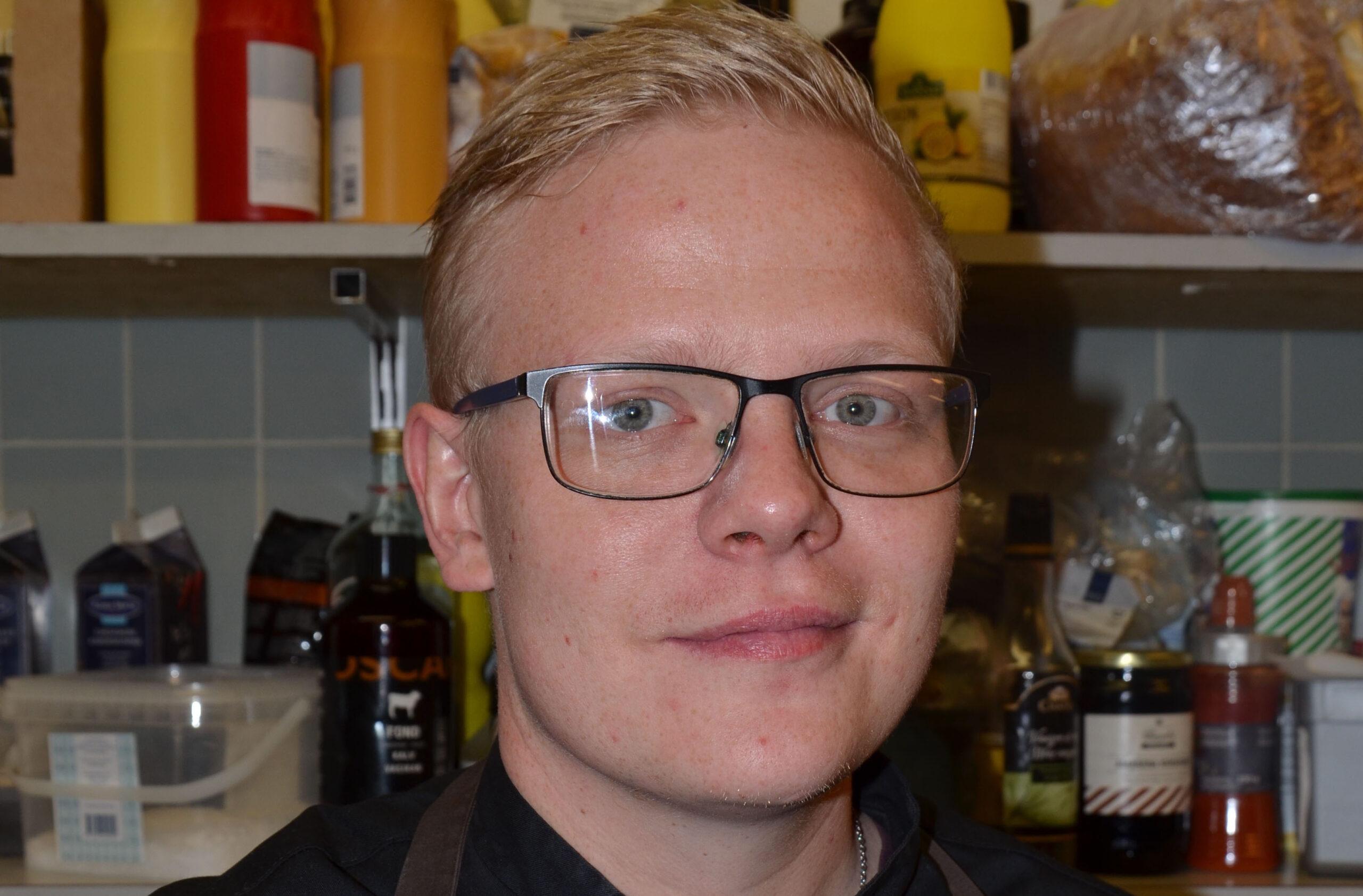 Køkkenchef i Faaborg. Lækker mad ved Restaurant Klinten.