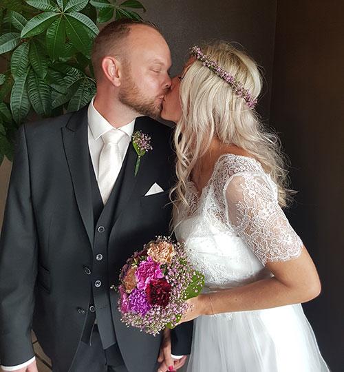Bryllupsfest på Restaurant Klinten