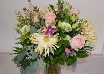 Restaurantklinten blomster