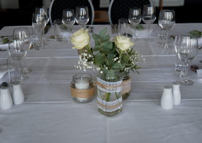 Bryllupsfest Borddækning Faaborg