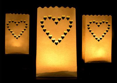 Romantiske lysposer til bryllup